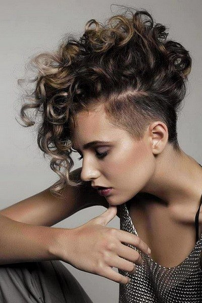 The Best Mohawk Hairstyles For Women Yve Style Com Pictures