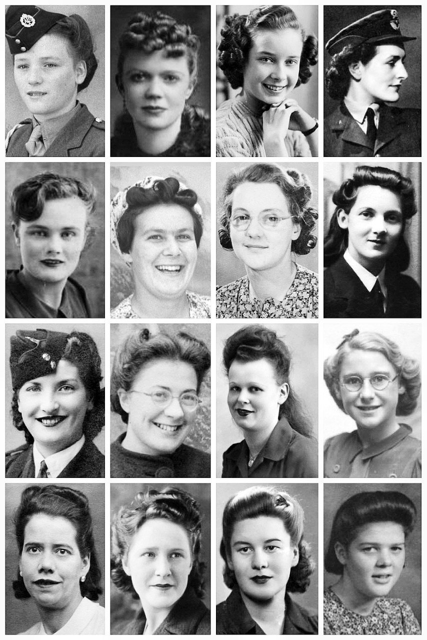 The Best Wwii Hairstyles A Collection Of Wwii Photographs The Pictures