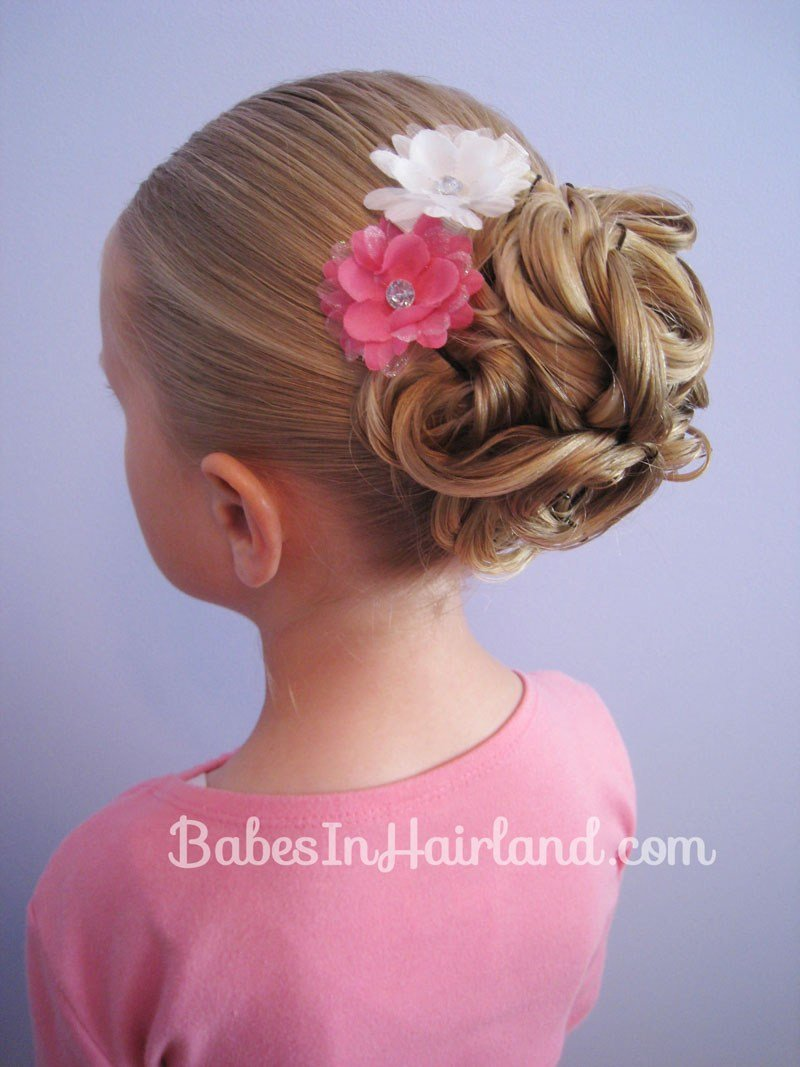 The Best Easy Looped Updo B*B*S In Hairland Pictures