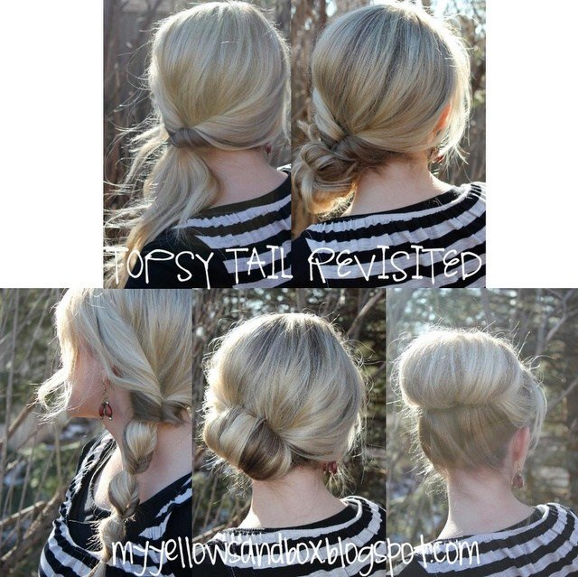 The Best 20 Topsy Tail Hairstyles For Any Age B*B*S In Hairland Pictures