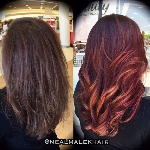 The Best Hair Color How To Marbled Ombré By Neal Malek Beauty Pictures