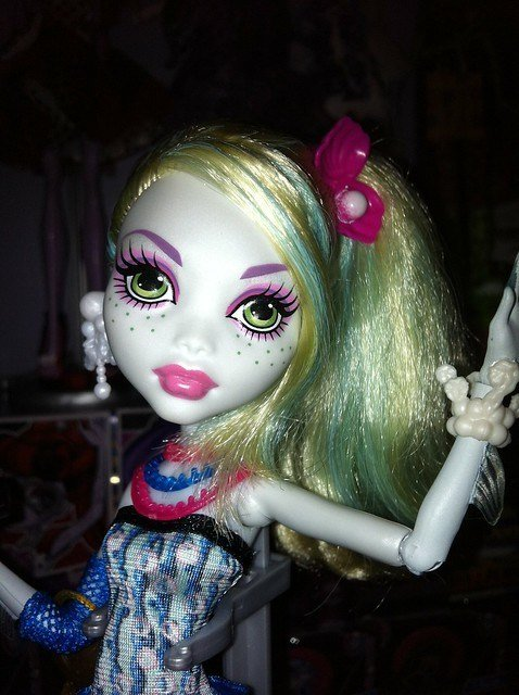 The Best Lagoona Blue Monster High Doll Have New Hairstyle By Me Flickr Photo Sharing Pictures