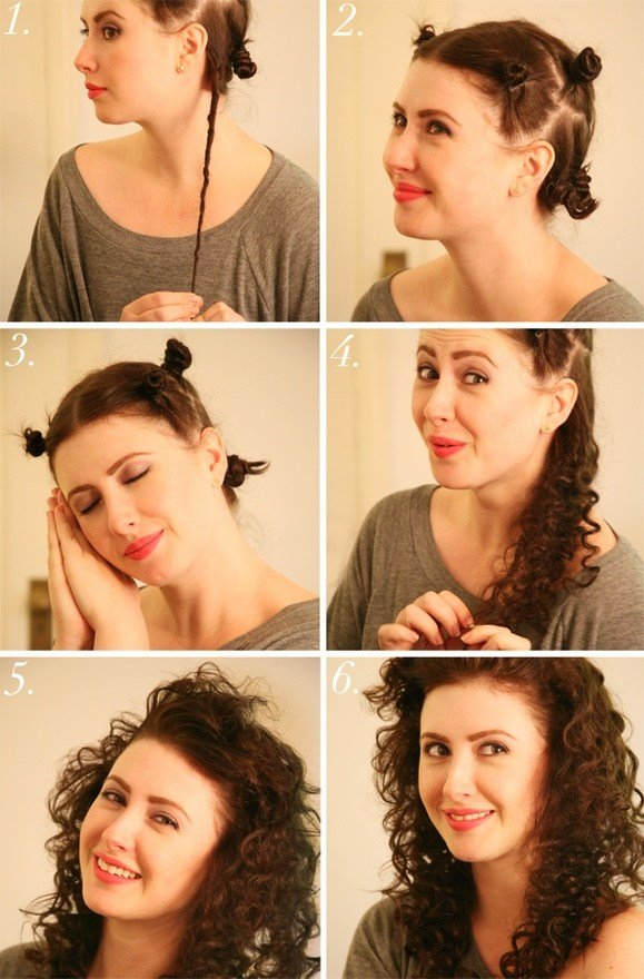 The Best Hair Tutorials For Curly Hairstyles Fashionsy Com Pictures