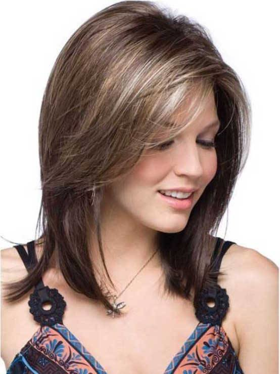 The Best 30 Mid Length Hairstyles Ideas For Women S Feed Inspiration Pictures