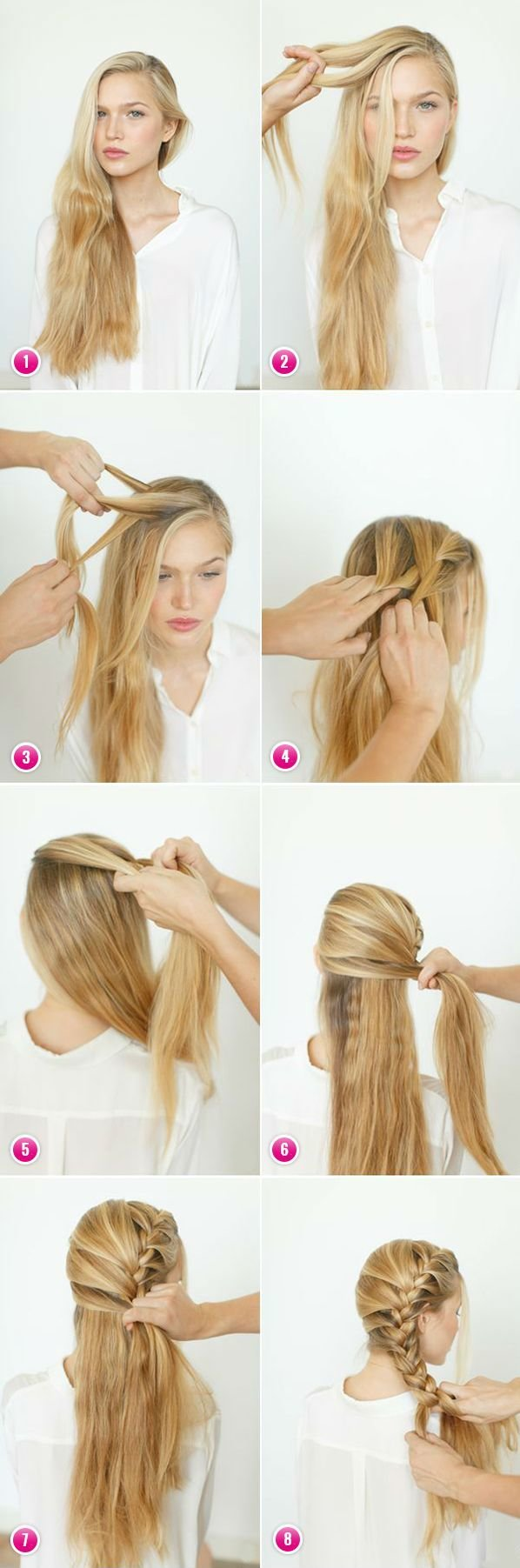 The Best Easy Braids For Long Hair To Do Yourself Hairstyle Ideas Pictures