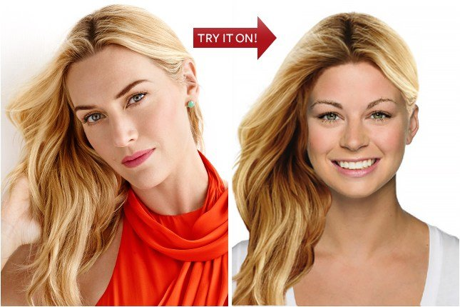 The Best Hollywood Hair Virtual Makeover Try On Celebrity Hairstyles Online At Instyle Instyle Com Pictures