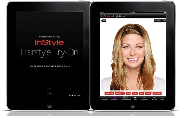 The Best Instyle Ipad App Instyle Hairstyle Try On Ipad App Pictures