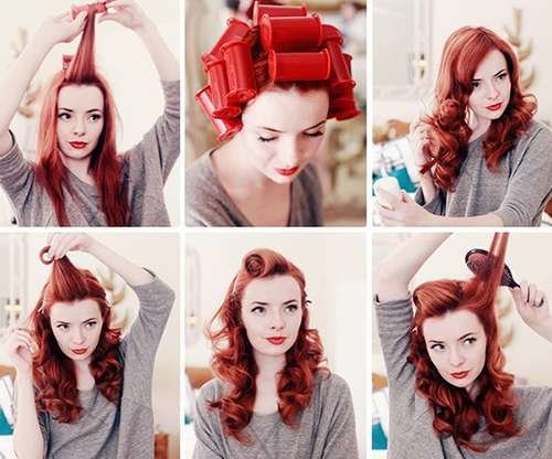 The Best Fabulous 40S Hair Tutorials Pinup Hair Tutorial Pictures