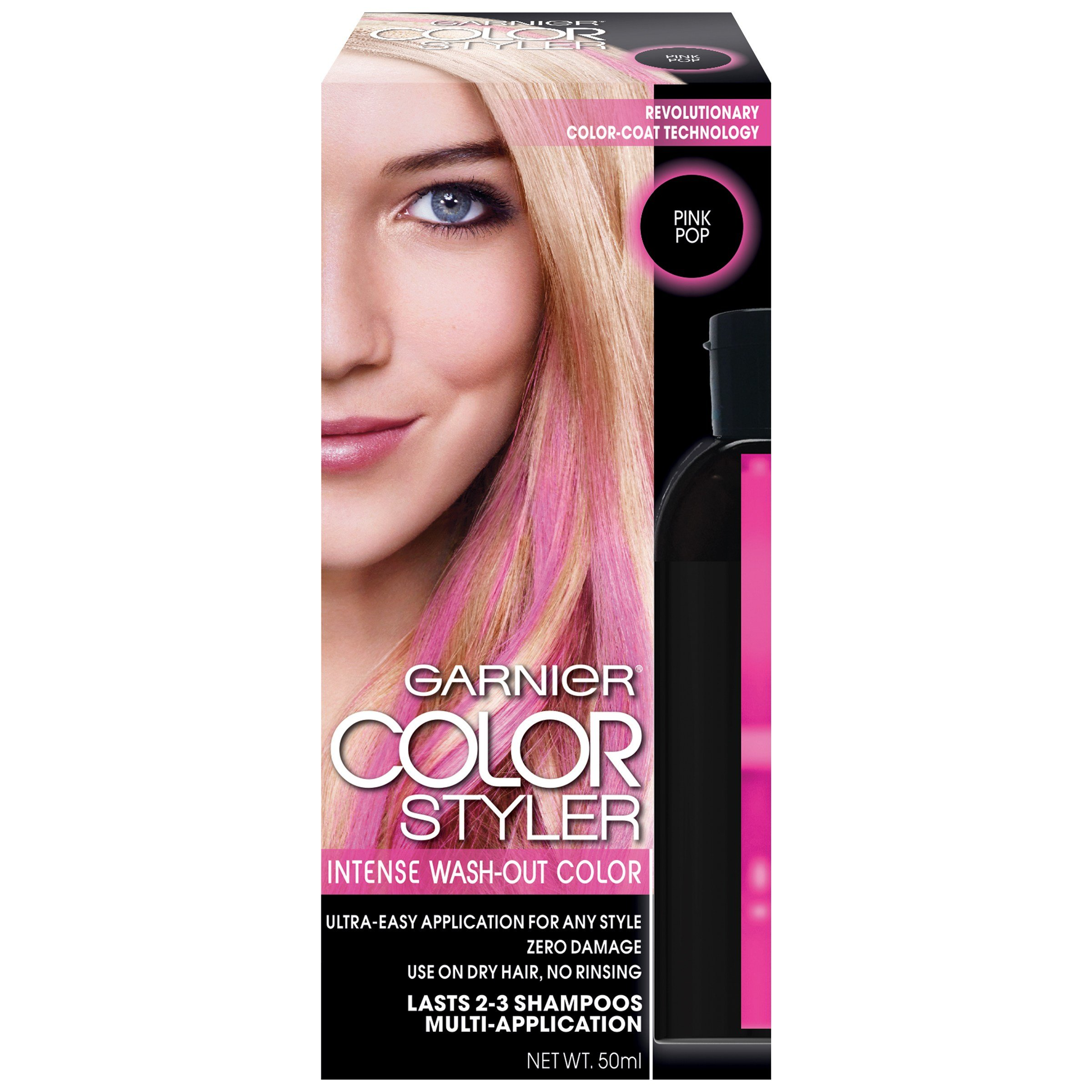 The Best Garnier Color Styler Intense Wash Out Haircolor Pink Pop 1 Pictures