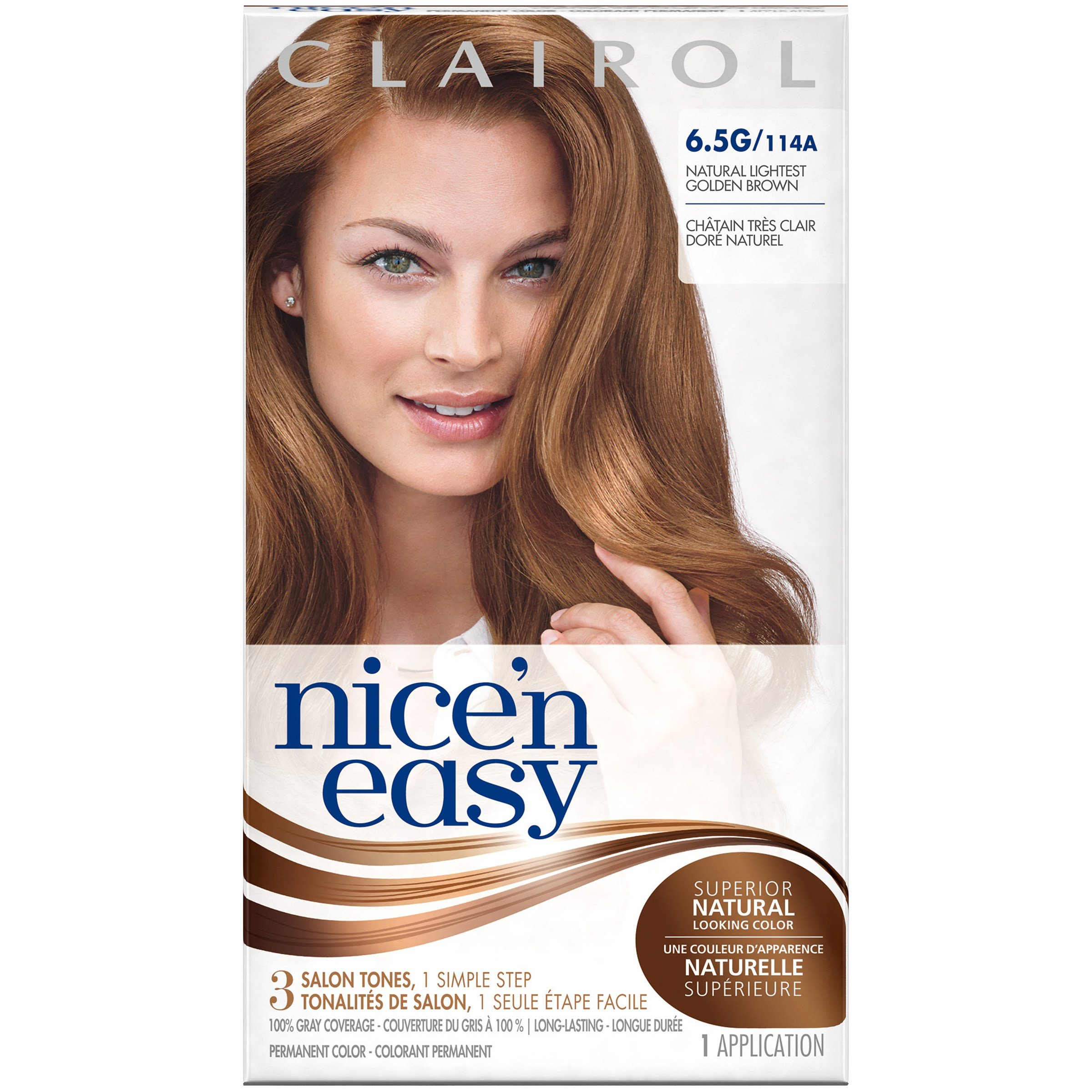 The Best Clairol Clairol Nice N Easy Permanent Hair Color 6 5G Pictures