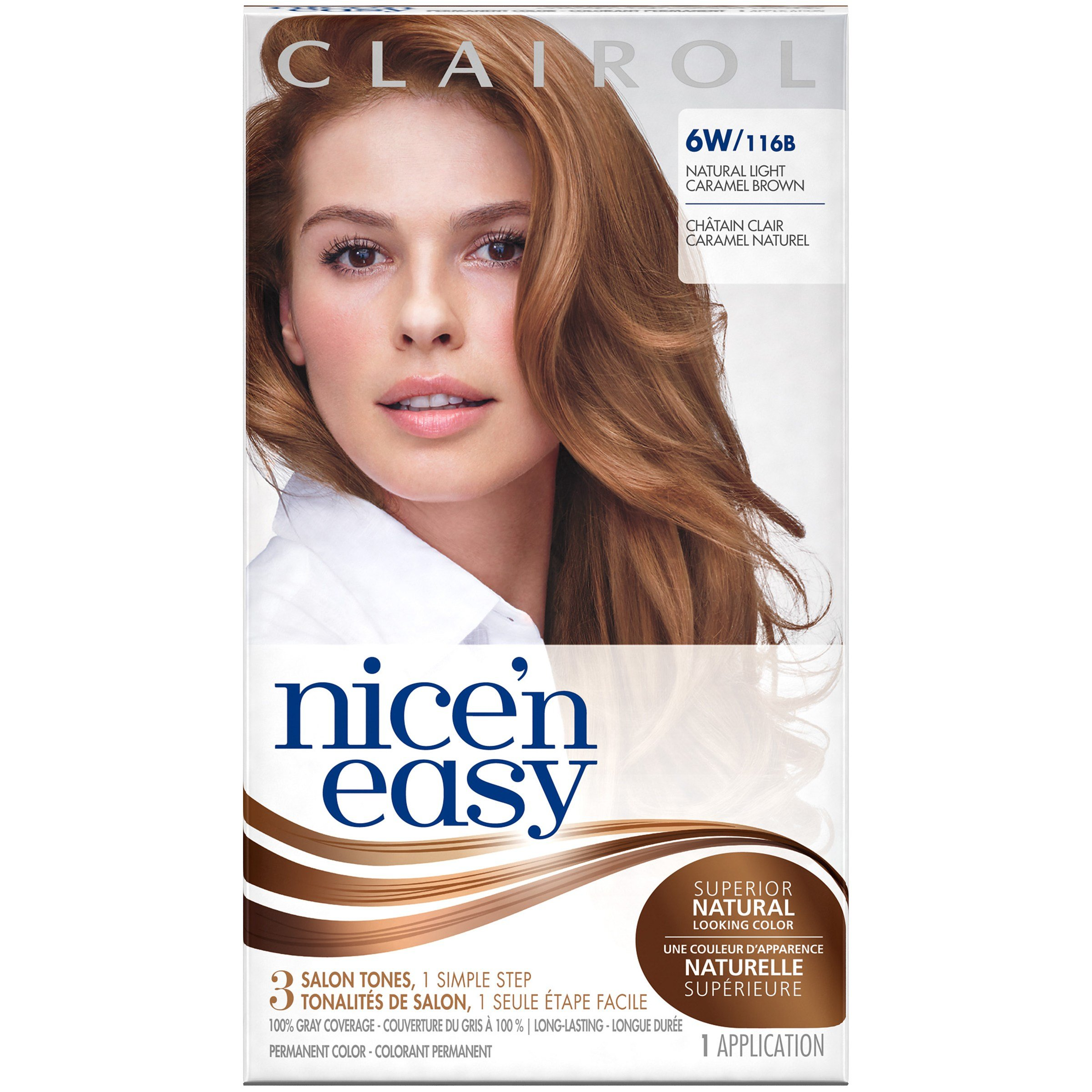 The Best Clairol Clairol Nice N Easy Permanent Hair Color 6W Pictures