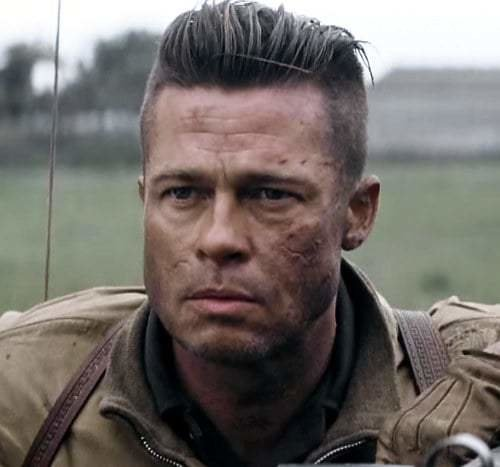 The Best How To Get Brad Pitt S Fury Hairstyle Many More – Cool Pictures