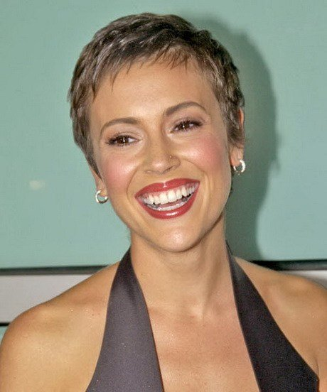The Best Alyssa Milano Pixie Haircut Pictures