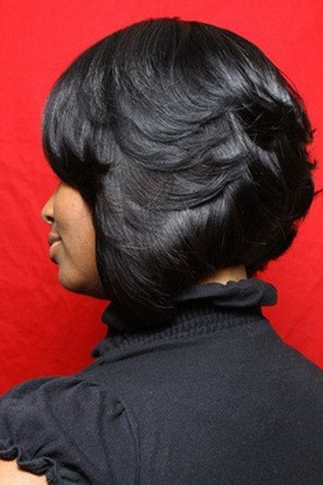 The Best Black Feathered Hairstyles Pictures