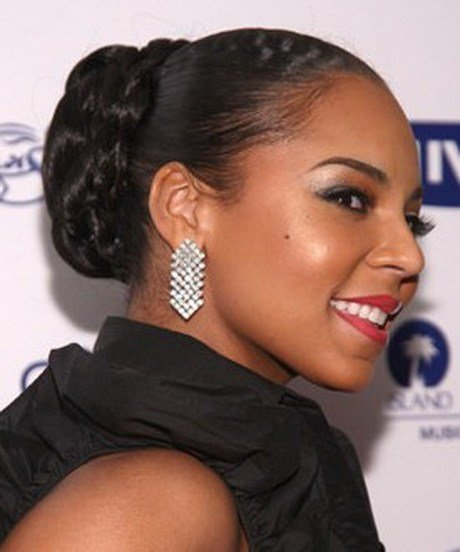 The Best Black People Updo Hairstyles Pictures