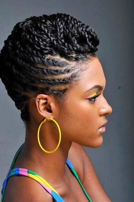 The Best Flat Twist Hairstyles For Black Women Pictures