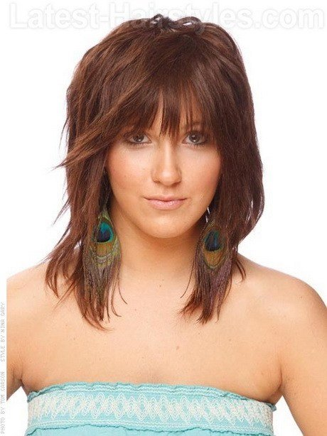 The Best Medium Length Razor Haircuts Pictures