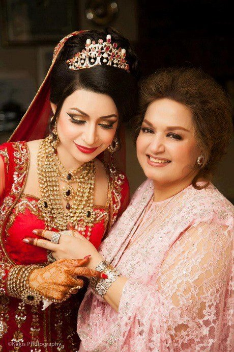 The Best Pakistani Bridal Hairstyle Pictures