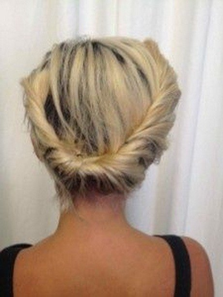 The Best Put Up Hairstyles For Short Hair Pictures