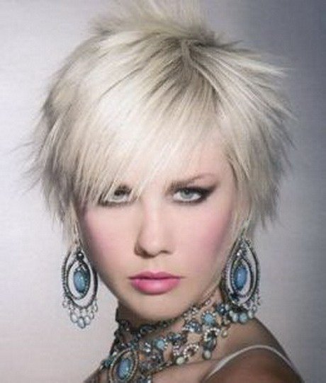 The Best Short Funky Hairstyles For Women Pictures