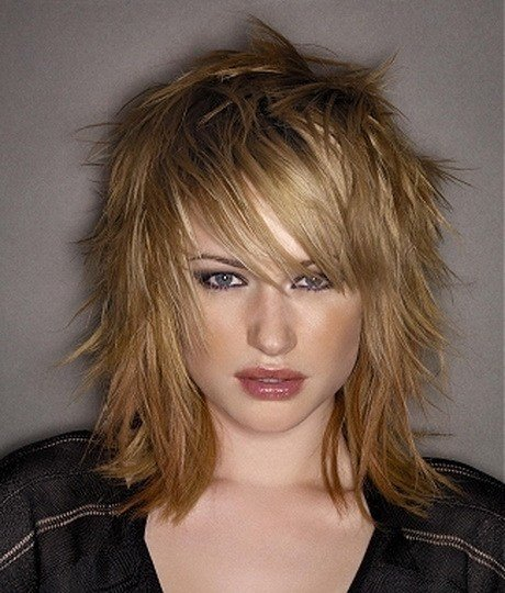 The Best Shoulder Length Choppy Layered Haircuts Pictures