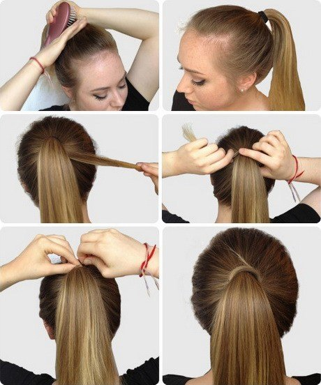 The Best Simple Hairstyles For Long Hair Step By Step Pictures