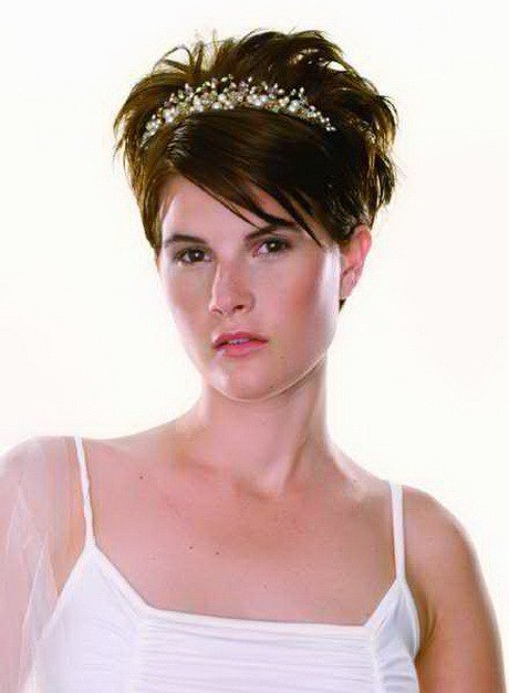 The Best Very Short Bridal Hairstyles Pictures