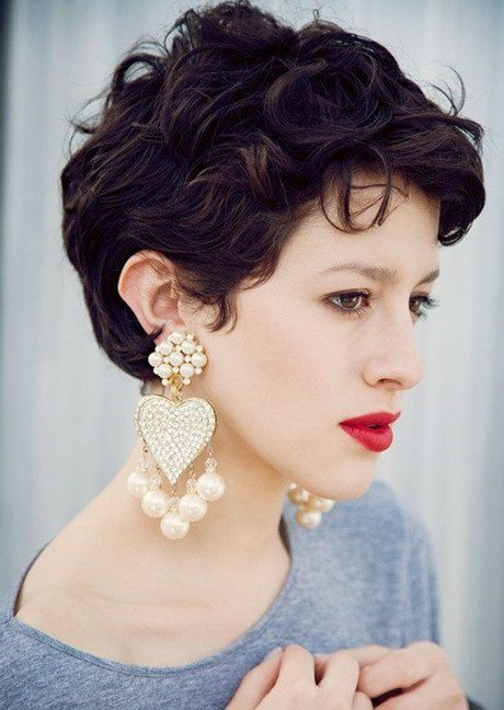 The Best Very Short Curly Hairstyles 2016 Pictures
