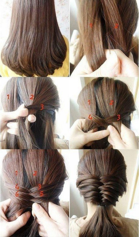 The Best Different Simple Hairstyles Pictures