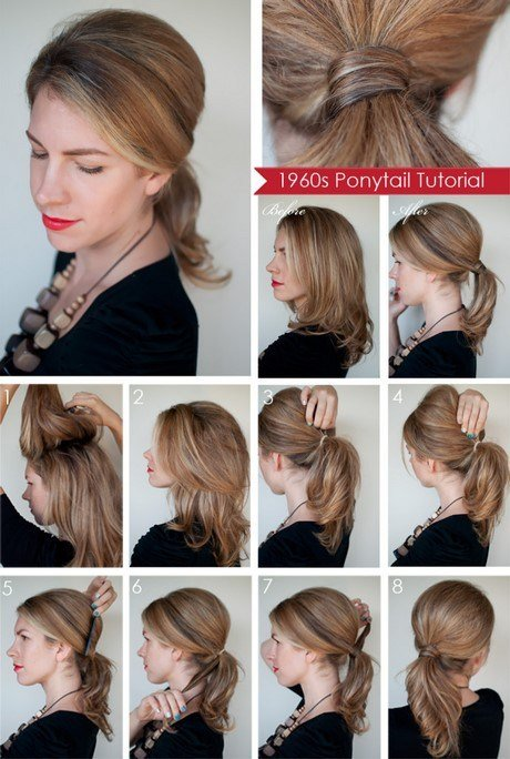 The Best Easy To Do Hairstyles For Medium Hair At Home Pictures
