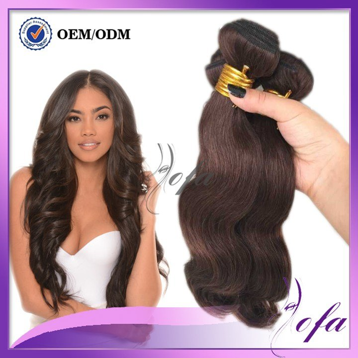 The Best Brown Malayisan Wavy Hair 8A Grade Hair Color 4 V*Rg*N Pictures