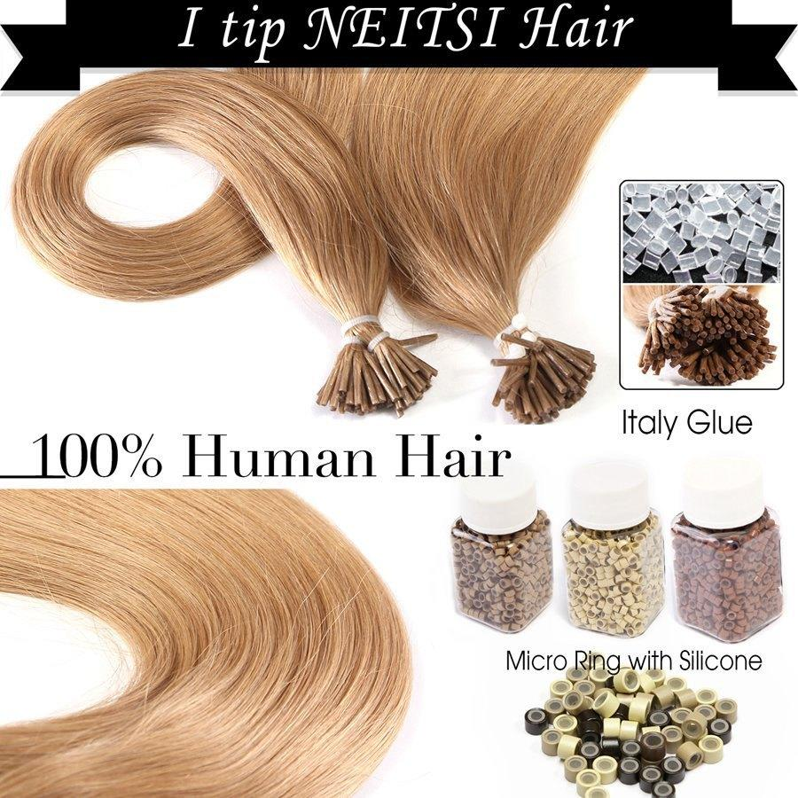 The Best Neitsi 20 Brazilian Remy Human Hair I Tip Stick Tip Pictures