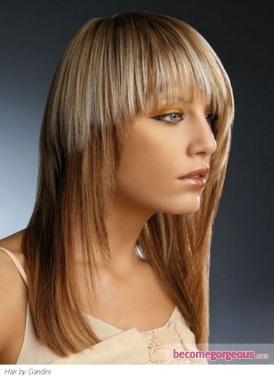 The Best Pictures Hair Highlights Ideas Stylish Two Tone Hair Color Pictures