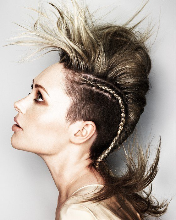 The Best Girl Mohawk Hairstyles Trends And Ideas Pictures