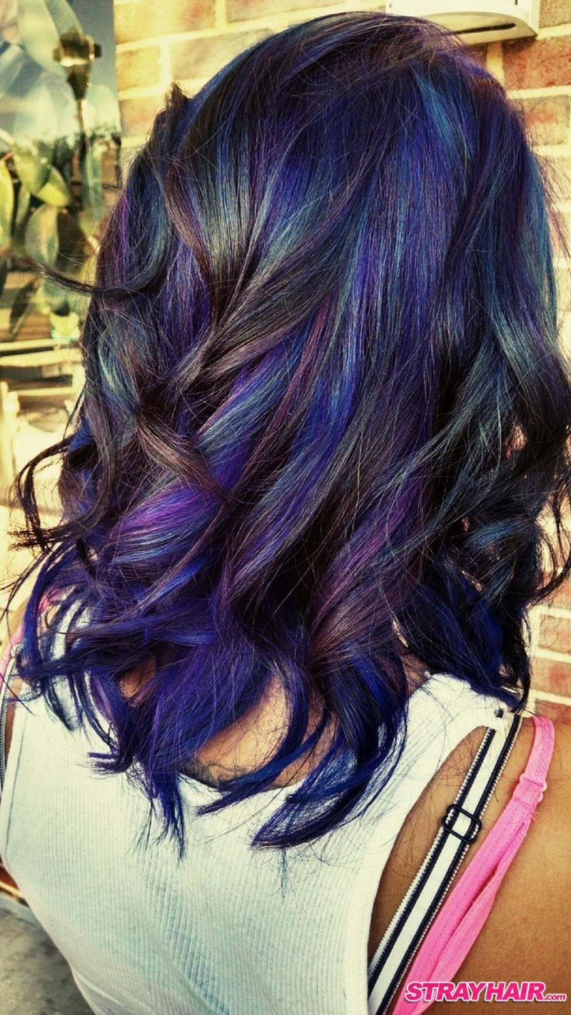 The Best Oil Slick Hair Color Is One Of The Most Amazing Things You Pictures