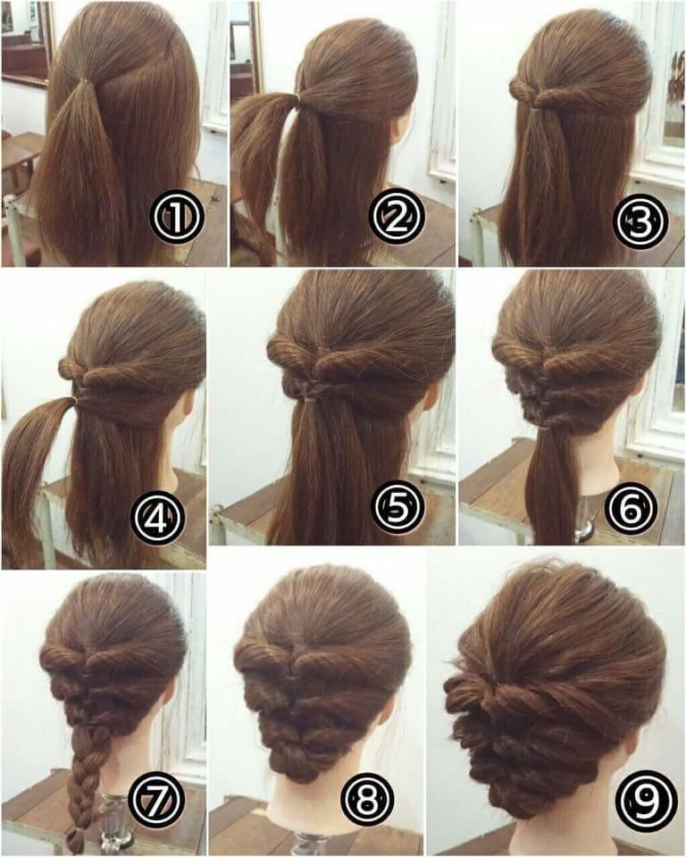 The Best Easy Hairstyles For Short Hair Step By Step Step By Step Pictures