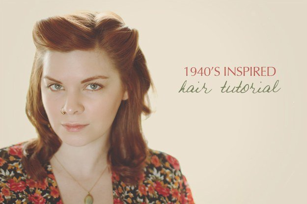 The Best 32 Vintage Hairstyle Tutorials You Should Not Miss Pictures