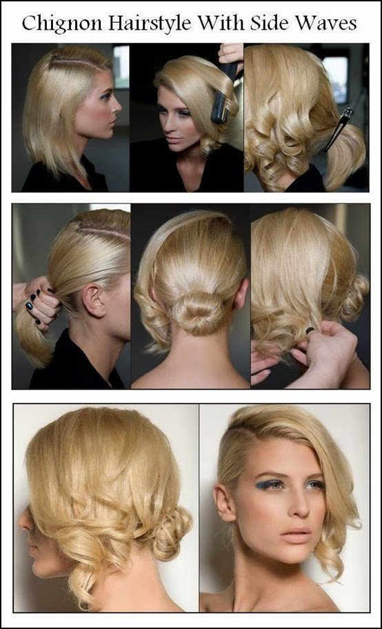 The Best 12 Beautiful Fashionable Step By Step Hairstyle Pictures