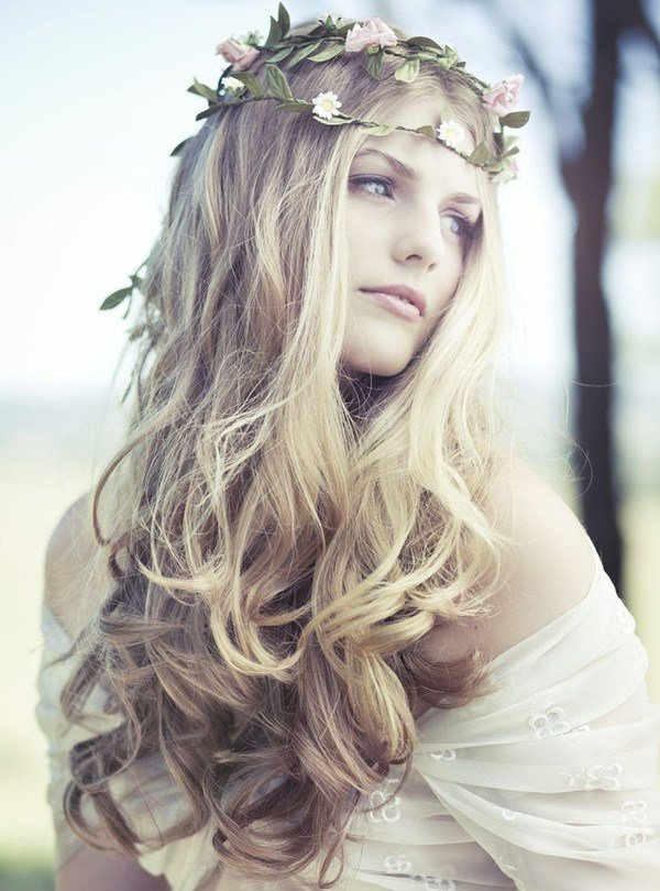The Best Bridal Inspiration 2013 Artistic Boho Wedding Themes Pictures
