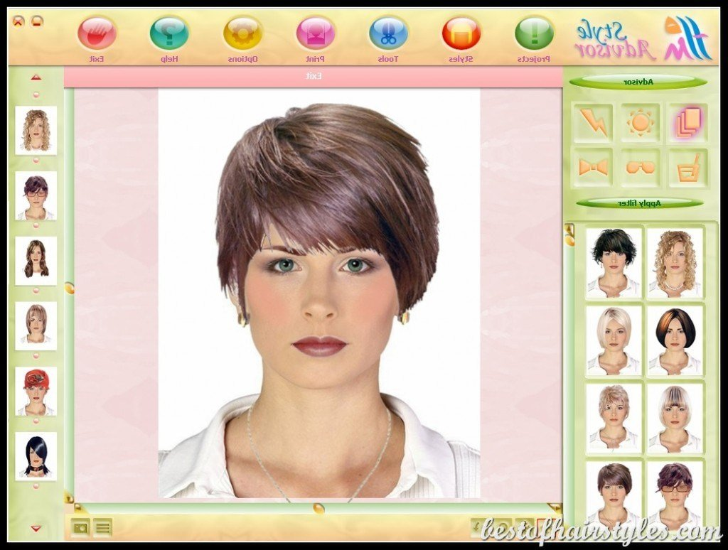 The Best Virtual Hairstyles Short Hairstyles 2019 Pictures