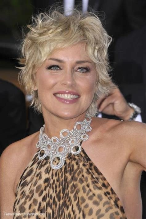 The Best Sharon Stone M*T*R* Hairstyles Pictures