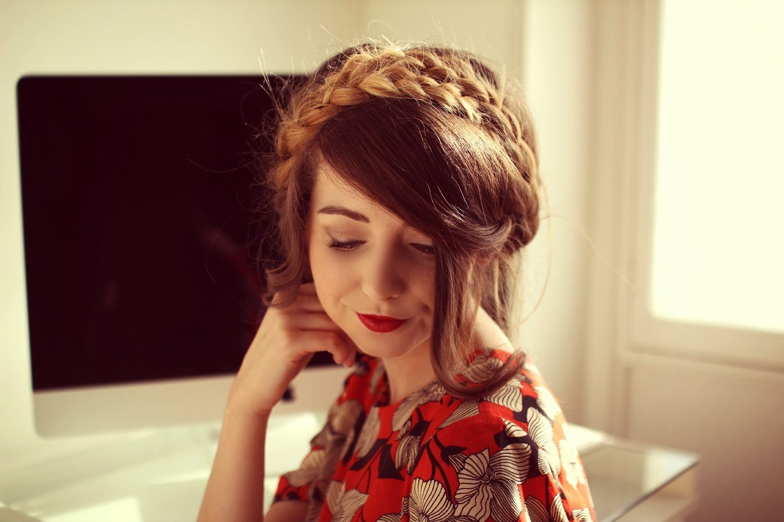 The Best Zoella Milkmaid Braid Pictures