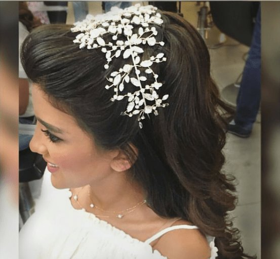 The Best Bridal Hair Trends Arab Brides Are Loving Arabia Weddings Pictures