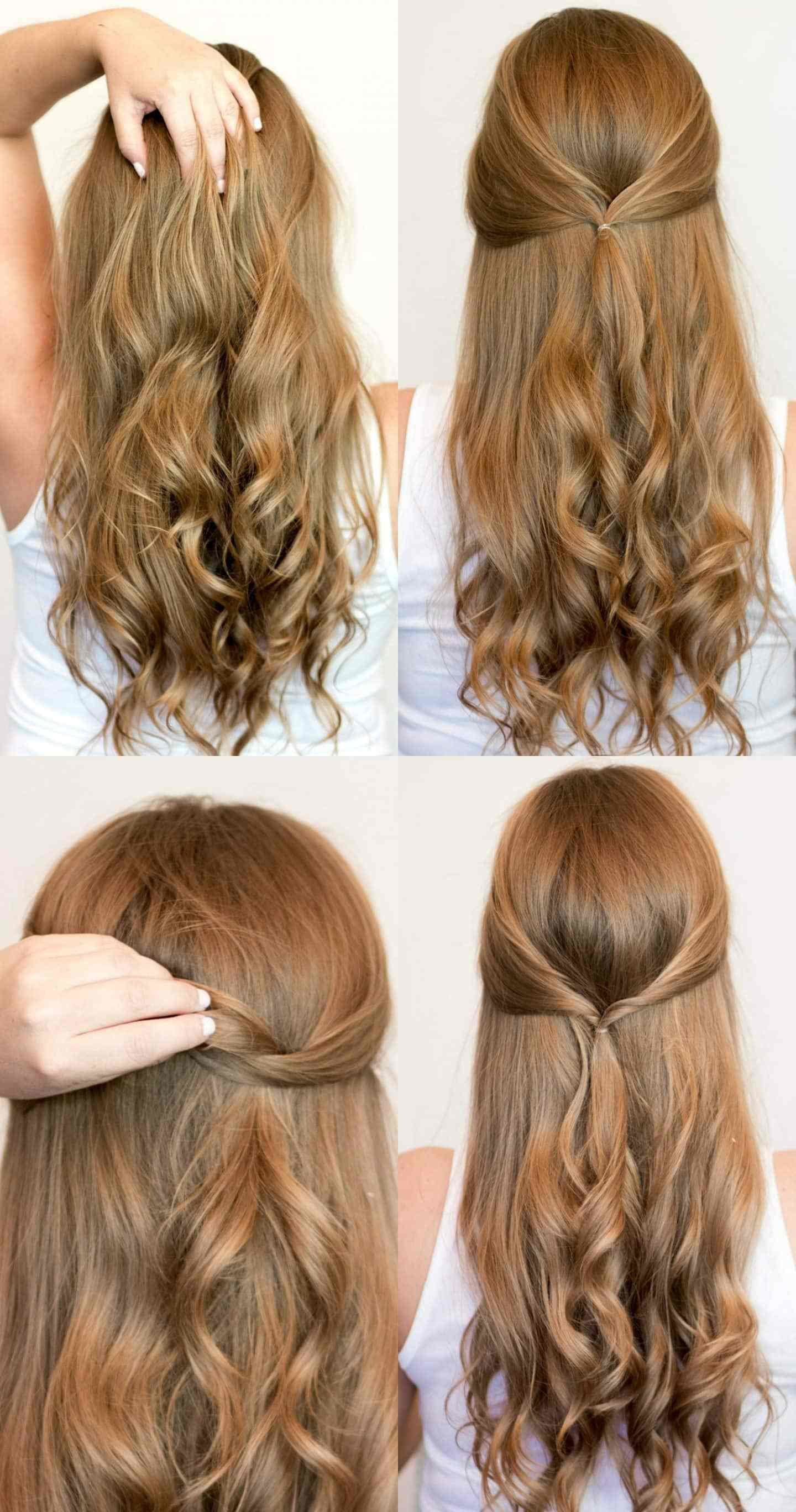 The Best Easy Heatless Hairstyles For Long Hair Ashley Brooke Pictures