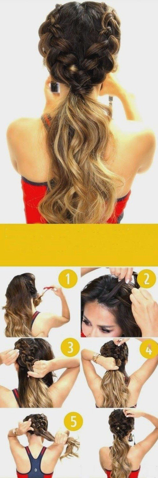 The Best 40 Easy Hairstyles For Schools To Try In 2016 Pictures