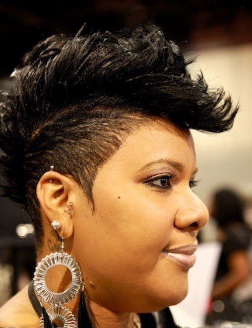 The Best 5 Awesome Short Mohawk Haircuts African American – Cruckers Pictures