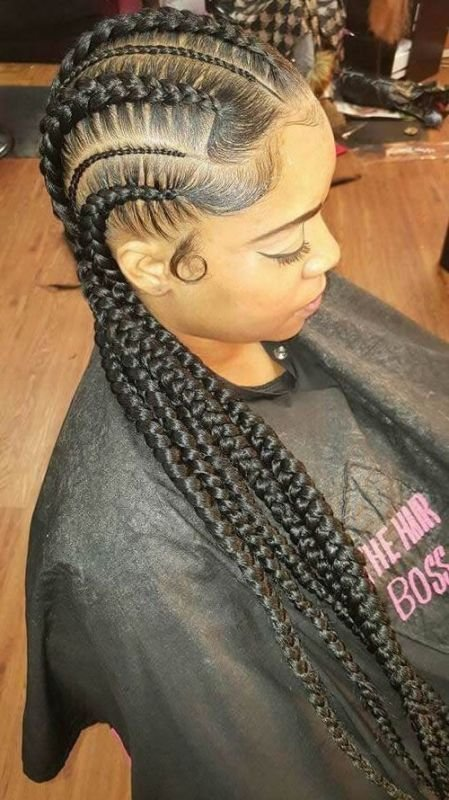 The Best 50 Best Black Braided Hairstyles For Black Women 2018 Collection – Cruckers Pictures