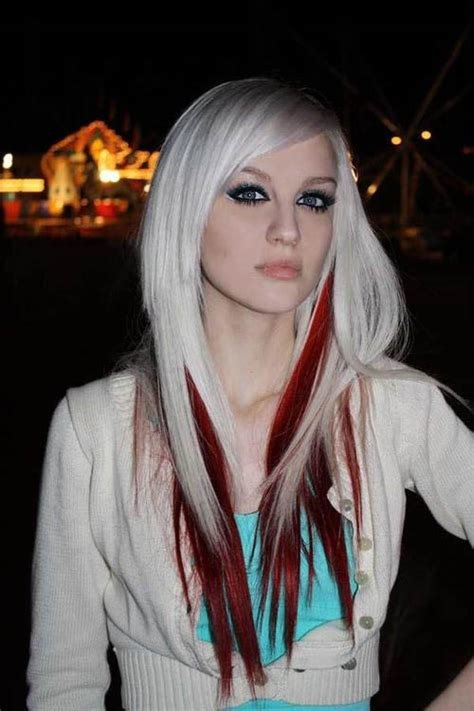 The Best Blonde With Underdye Red The Latest Trends In Women S Pictures