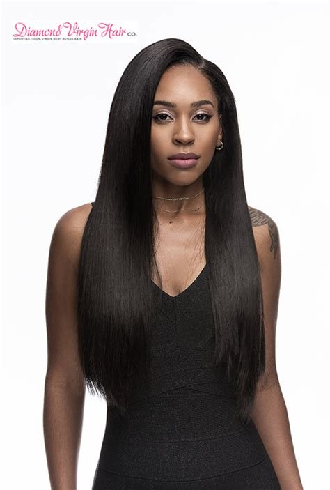 The Best Buy Peruvian V*Rg*N Straight Hair Extensions Online Pictures