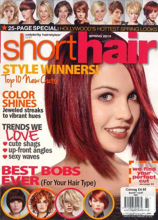 The Best Buy Short Hair Magazine America British Magazines From Newsstand Women S Hair Pictures